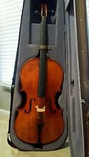 Full-Size 4/4 Rudoulf Doetsch Cello w/ Bow & Hard Case (1990s, pre-Eastman)