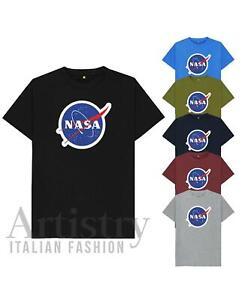 Nasa T-Shirt Space Amongst Impostor, Astronaut Logo Mens Unisex Short Sleeve Tee