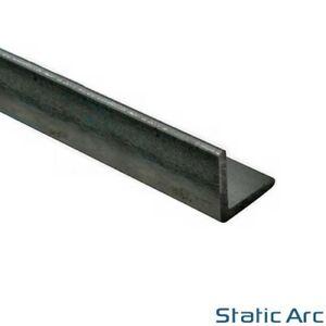 MILD STEEL EQUAL ANGLE IRON CORNER METAL BAR 3-5mm THICK 13-50mm WIDTH 1M LENGTH