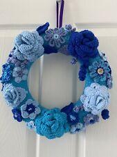 Handmade Door Flowers Wreath