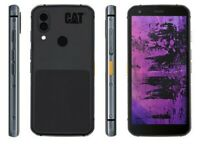 CAT® S62 Pro Black, Dual SIM, 128GB 6GB, FLIR Lepton 3.5, from -20° +400° C