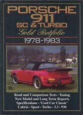 PORSCHE 911 SC & Turbo: Coupe Targa Cabriolet (1978-83) periodo di prove su strada LIBRO