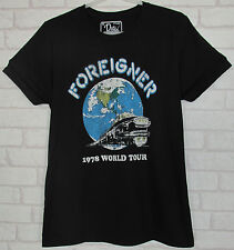 Foreigner World Tour 1978 T Shirt Brand New Dirty Cotton Scoundrels