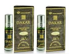 2 Bottles Dakar by Al Rehab 6ml Best Seller Perfume/Oil/Attar/Spicy Woody Aroma