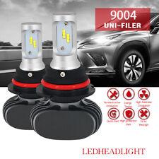 2x High Power 6000K White 9007 9004 HB1 LED Headlight Bulbs Replace Xenon Bulb