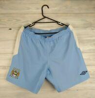 Manchester City shorts XL soccer football Umbro
