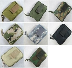 New Airsoft Molle Stealth Folding Dump Drop Pouch Utility Pouch 6 Colors