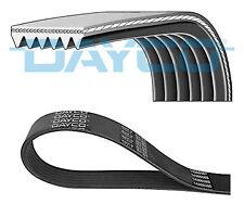 DACIA SANDERO Mk2 1.5D 6 Rib Multi V Drive Belt 2008 on Dayco 117202608R Quality