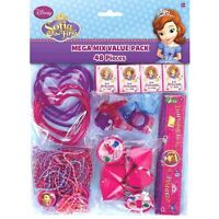 SOFIA THE FIRST PARTY SUPPLIES FAVOUR VALUE PACK OF 48 PIECE PINATA FILLER