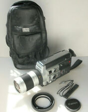 Canon Auto Zoom 1014 Electronic Super 8 Filmkamera TESTED double exposure 54 fps
