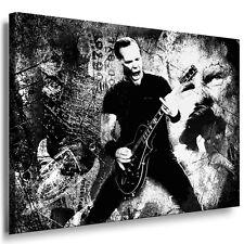 Bild auf Leinwand Metallica James Hetfield Wandbild Modern Bilder Kunstdruck N24