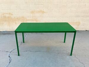 Rehab Original Steel Dining or Work Table Made to Order, Custom Colors