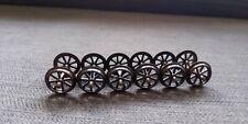 Vintage Model Railway OO Gauge metal Wheels hornby/lima