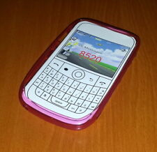 New Pink Soft Plastic Blackberry Curve 8520 Smartphone Case Super Fast Shipping