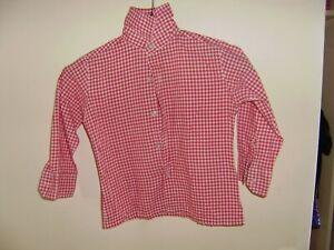 Rot - weiß kariertes Hemd