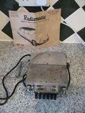 CLASSIC RADIOMATIC PUSH BUTTON CAR RADIO.CITROEN ID 19.UNTESTED-SPARES/REPAIR.