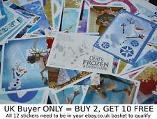 Panini Disney Olaf's Frozen Adventure 2017 {select your} Album stickers singles