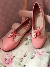 Dancing Days Pink Vintage Shoes Size 6 NEW