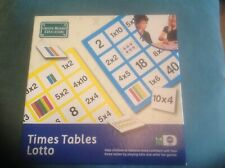 Green Board Games Times Tables Lotto Educational Game