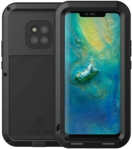 Love Mei For Huawei Mate 20 Pro Phone Case Black Shockproof Dust Proof New