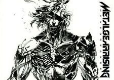 METAL GEAR SOLID RISING REVENGEANCE YOJI SHINKAWA ART BOOK HIDEO KOJIMA KONAMI