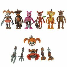 6Pcs Five Nights at Freddy's Survive the Nights Bonnie Foxy Action Figure Toys