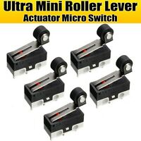 5 X MINI ULTRA PUSH BUTTON microinterruttore SPDT SUB miniatura MICRO SWITCH