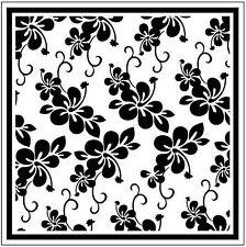 Blossom 126387 Square Embossing Folder for Cardmaking, Scrapbooking, etc