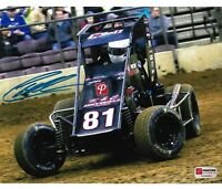 Christopher Bell Signed Duquoin Tucker Boat Motorsports Midget 8x10 Photo PA COA