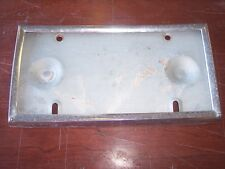 79-83 DATSUN 280ZX LICENSE PLATE  BRACKET FRONT OR REAR HARD TO FIND OEM PART