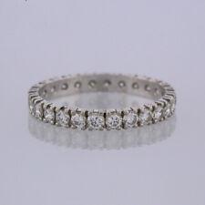 1.04 Carat Diamond Full Eternity Ring 18ct White Gold Size R