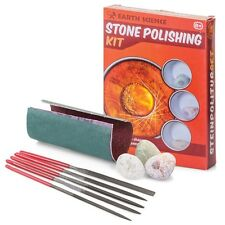 Earth Science Stone Rock Polishing Kit - Fun & Educational Childrens Jem Set