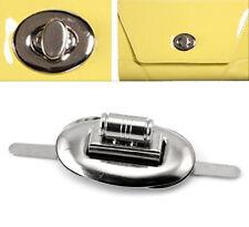10Set Handtasche Drehverschluß Taschenverschluß Schnappverschlüsse