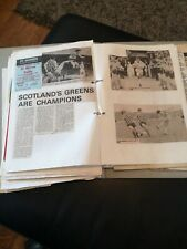 More details for celtic fc scrap album from early 80s