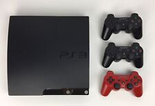 Sony PlayStation 3 Slim 160GB (CECH-2501A) Bundle w/ Logitech Driving Force -PS3