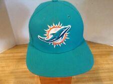 Miami Dolphins NE New Era NFL Strap back Adjustable Cap Teal Hat Cap