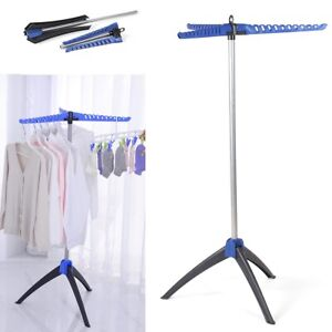 Portable Heavy Duty Clothes Airer Laundry Dryer Hanger Horse Folding Stand Rack