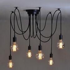Modern Retro Ceiling Light Vintage Metal E27 Pendant Lamp Uk