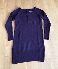 Gap Womens Wool Purple Jumper Dress Size S