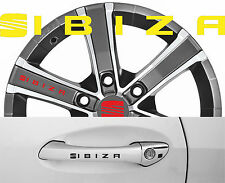 4 x Türgriff- Felgen Aufkleber Seat Ibiza 002
