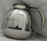Delta Airlines Stainless Steel Coffee Server NIB