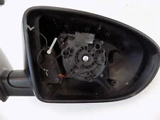 NISSAN QASHQAI I BLACK RIGHT WING MIRROR ELECTRIC COVER CASE 026202 (S33-13)