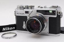 【EXC++++】 Nikon SP Rangefinder Film Camera w/ 50mm F2 Lens From Japan #563