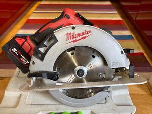 Milwaukee M18 BLCS66 Brushless Cordless Circular Saw+One 5.0Ah Battery
