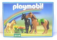 Playmobil Pferde mit Fohlen, 3114, in Box