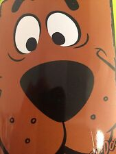 PLUSH blanket throw SOFT New Scooby Doo Big Head NEW