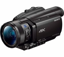 SONY FDR-AX100EB 4K Ultra HD Camcorder - Black - Currys