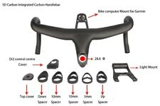 5D Carbon Integrated Drop Bar Road Bicycle XR4 Handlebar With  Computer Mount