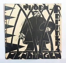 Wendingen art deco magazine 1928 no.9, arts & crafts by Johan Thorn Prikker