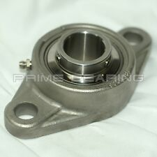"High Quality!! SUCSFL207-20 1-1/4"" Stainless Steel 2-Bolt Flange Bearing"